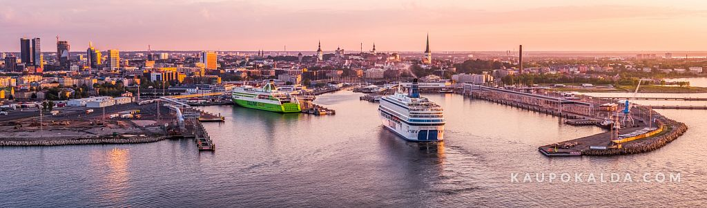 Tallinn loojangus